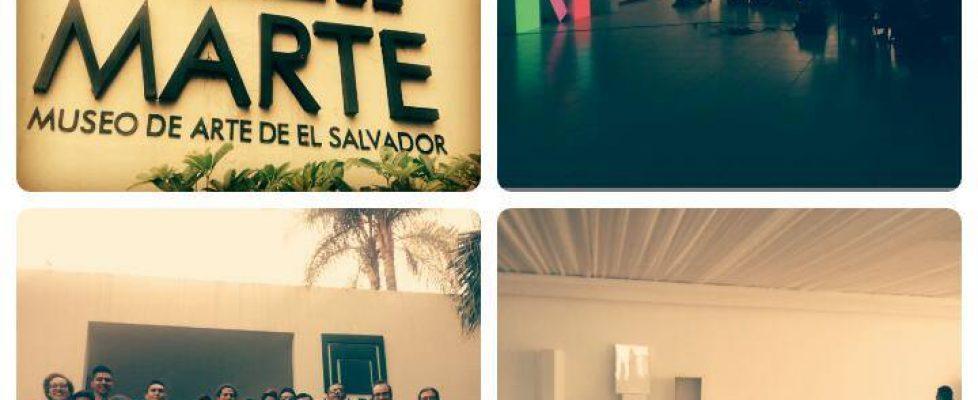 Curso de Videoarte en MARTE (Museo de Arte de El Salvador)