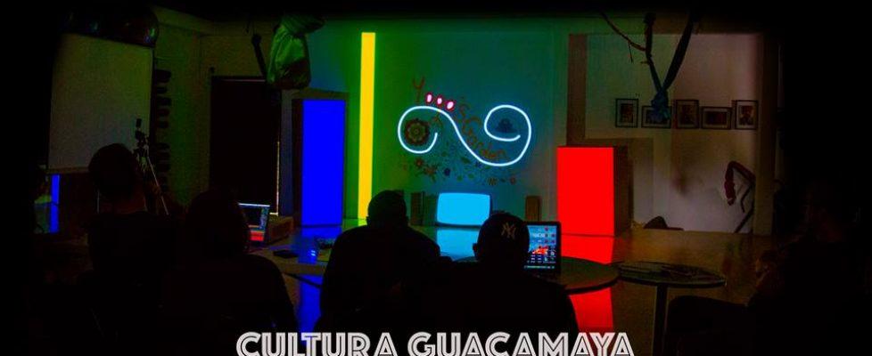 Curso de Videomapping en Honduras (Cultura Guacamaya)