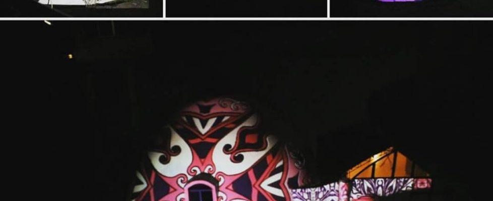 Videomapping en Tegucigalpa
